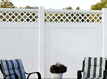 Vinyl Privacy Fence Heartland Fence Peoria Il