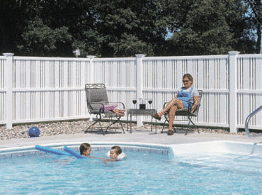 Vinyl Pool Fences Heartland Fence Peoria Il